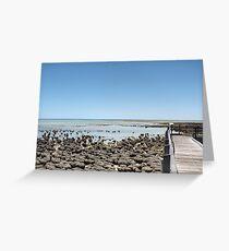 Stromatolites  Greeting Card