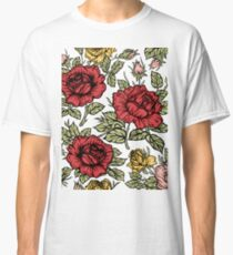 Floral rose Classic T-Shirt