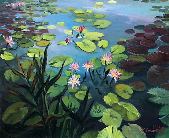 Lotus Flowers  by kirilart
