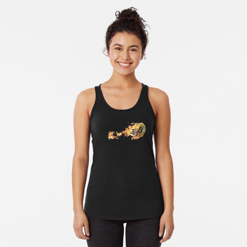 Btc in fire Camiseta con espalda nadadora