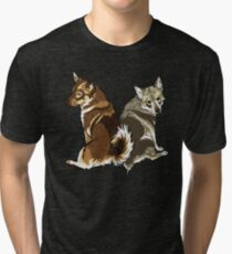 Vallhunds - Natural Colours Tri-blend T-Shirt