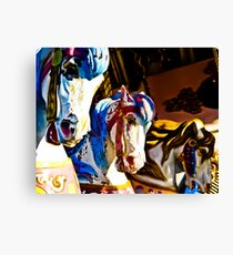 Carousel History Canvas Print