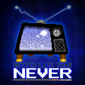 Retro TV - Better Late Than Never Videogames by BlazeHedgehog
