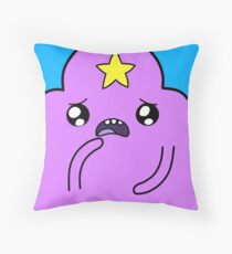 Lumpy Space Princess Squ'ed Throw Pillow
