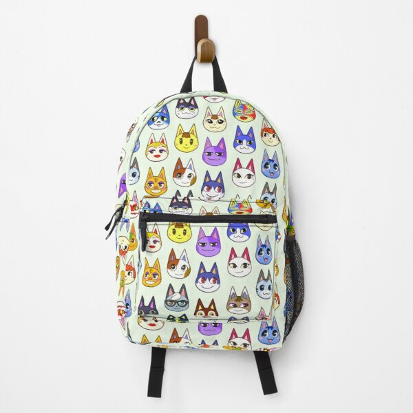Animal Crossing Cats Backpack