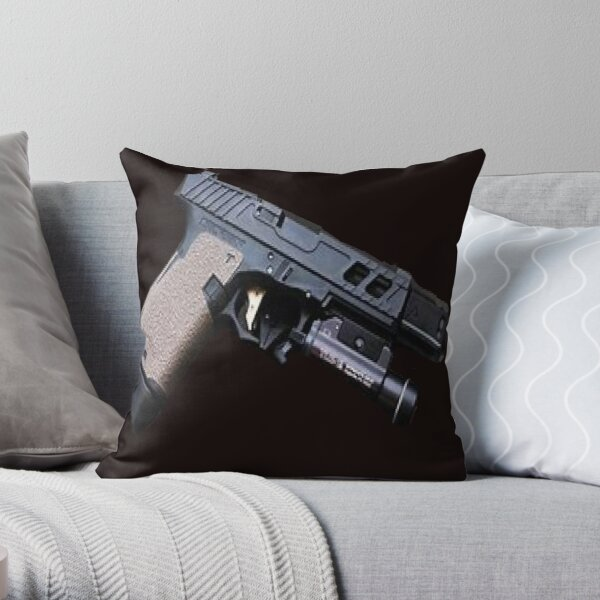 my little friend Throw Pillow