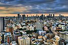 Tel Aviv skyline winter time by Ronsho