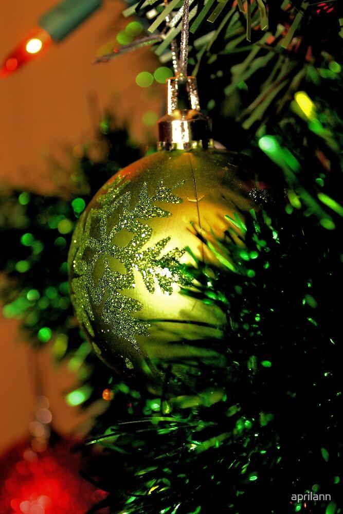 Christmas Green by aprilann