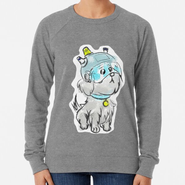 Snuffles was my slave name  Lightweight Sweatshirt