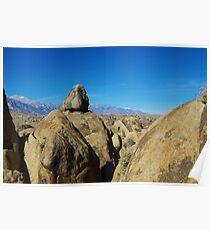 Alabama Hills and Sierra Nevada, California Poster