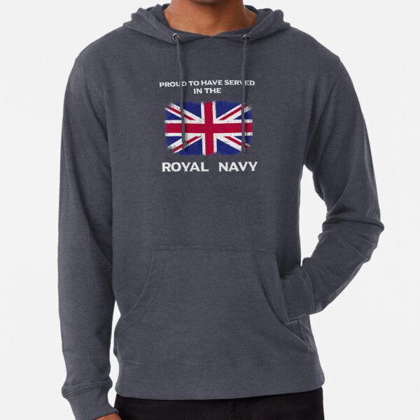 Proud to Have Served In The Royal Navy Lightweight Hoodie