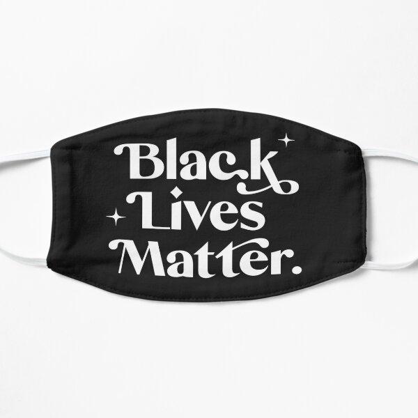 Black Lives Matter - White Text Mask