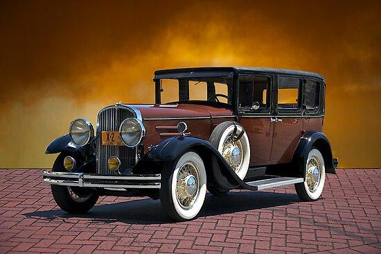 1930 Franklin Formal Sedan by DaveKoontz
