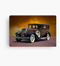 1930 Franklin Formal Sedan Canvas Print