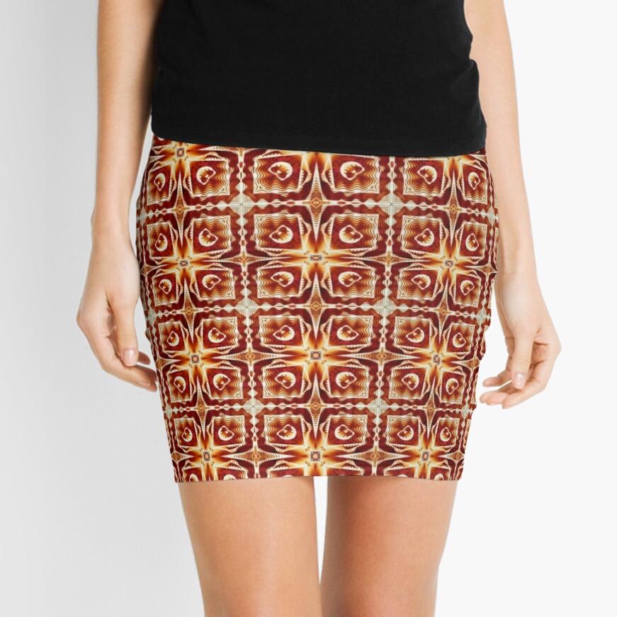 Saharan Squares Mini Skirt