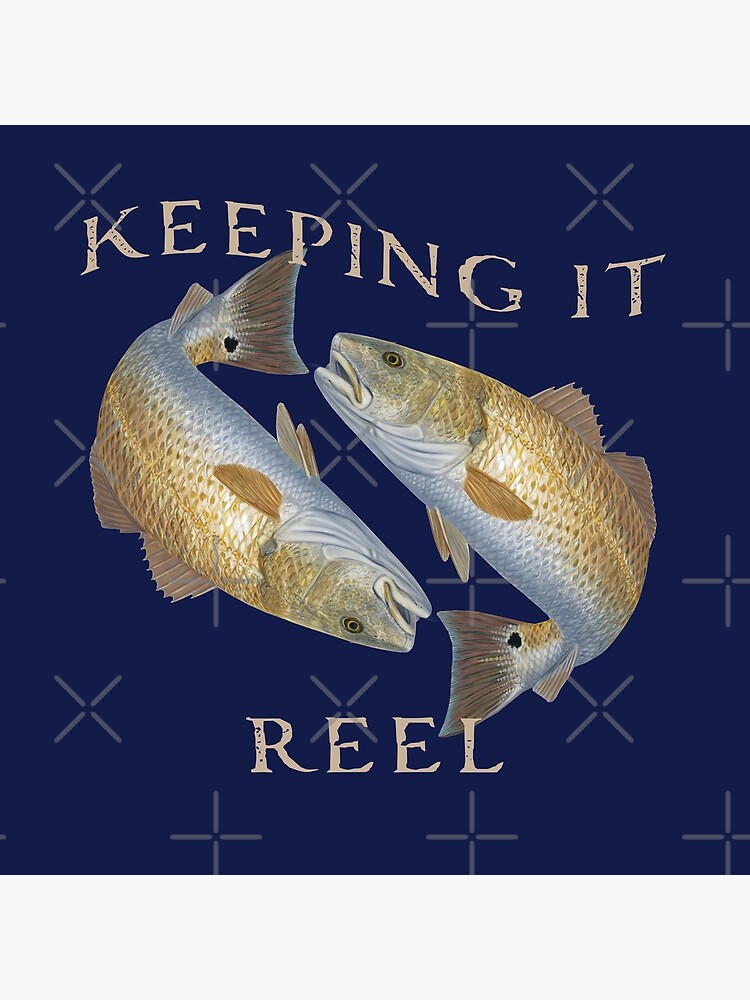 Keeping it Reel Redfish Design by RKasper