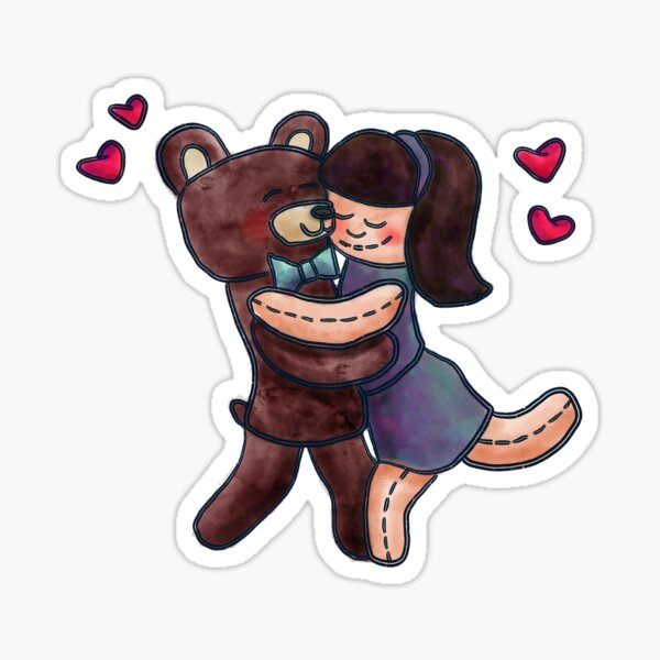 Hugs Sticker