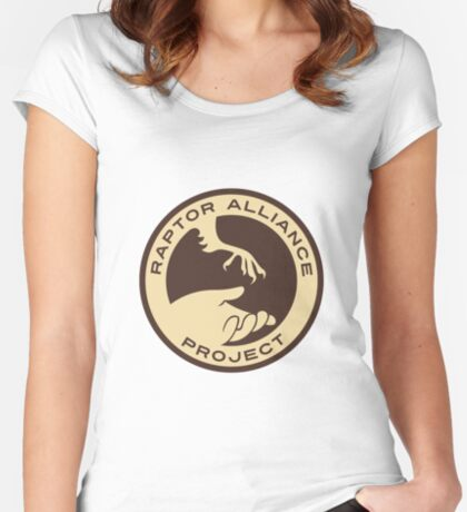 Raptor Alliance Project: Full Color Women's Fitted Scoop T-Shirt