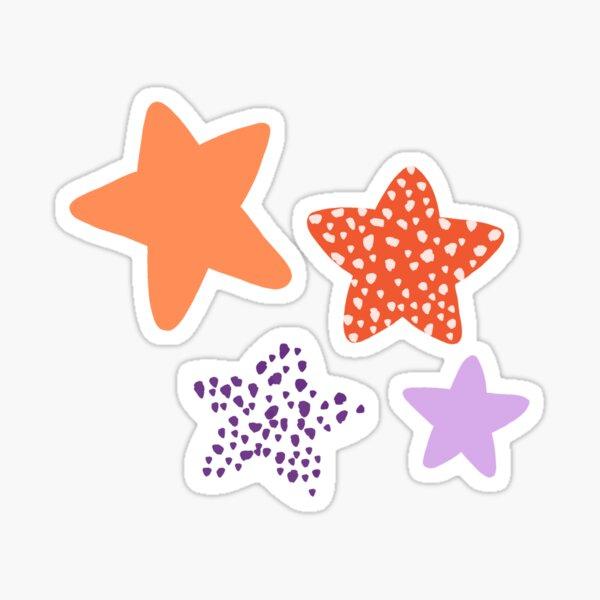 Clemson Stars - Spotted Sticker