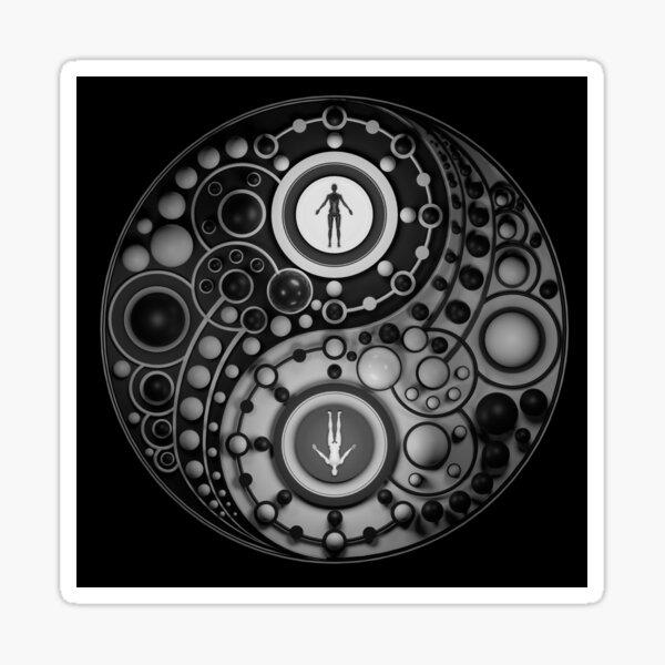 Taijitu (1/3) Sticker
