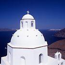 Church - Santorini by Steve Outram