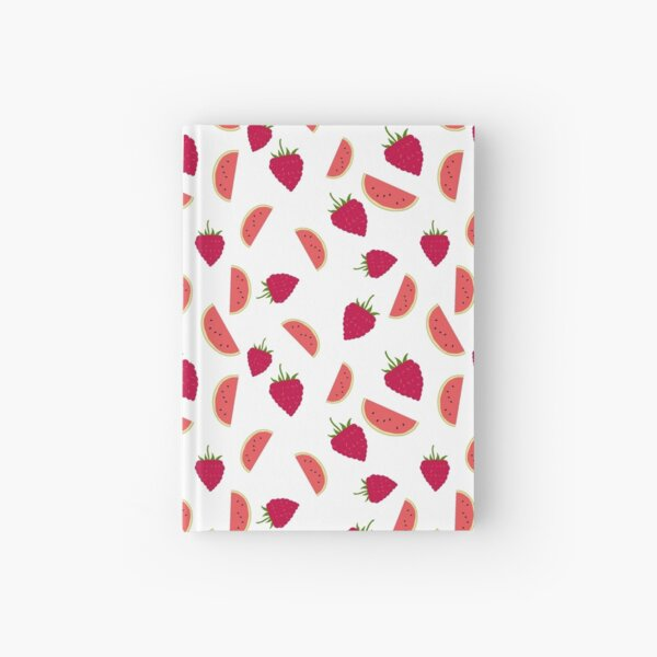 Watermelon and Raspberry  Hardcover Journal