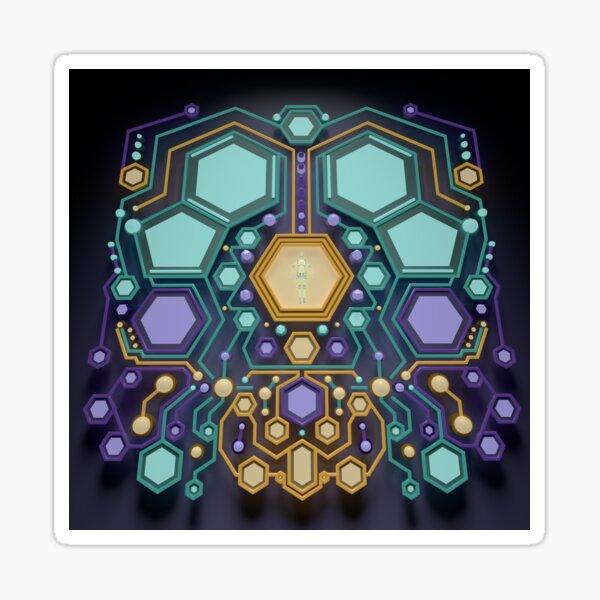 Spirit Molecule Sticker