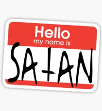 My Name Is God Stickers Redbubble