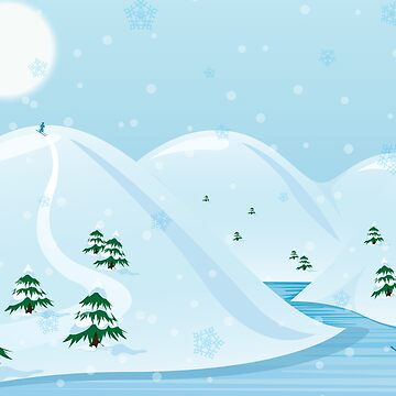 Snow Land by MsSLeboeuf