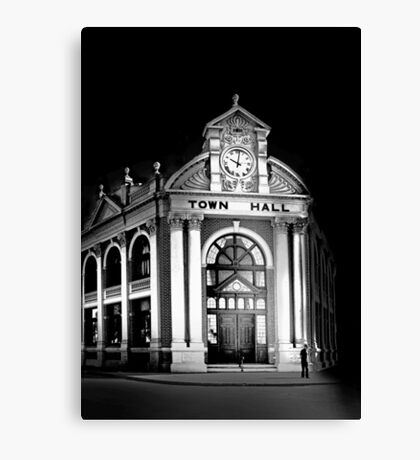 York Town Hall - Western Australia  Canvas Print