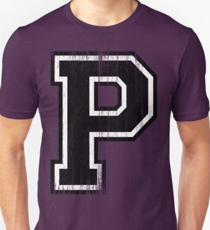 Big Varsity Letter P T-Shirt