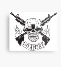 Infantry Metal Print