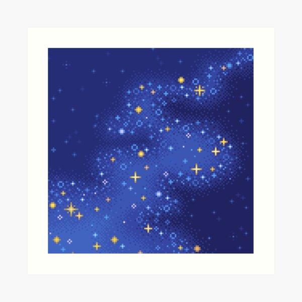 Lapis Universe Art Print