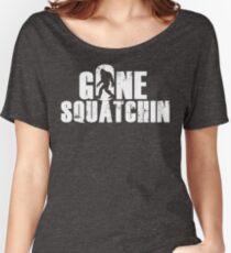 GONE SQUATCHIN' - Bigfoot Shirt Women's Relaxed Fit T-Shirt