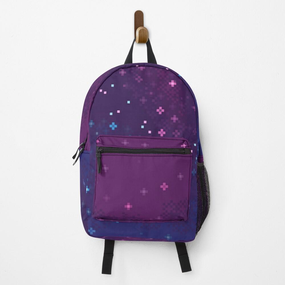 Bi Pride Flag Galaxy (8bit) Backpack