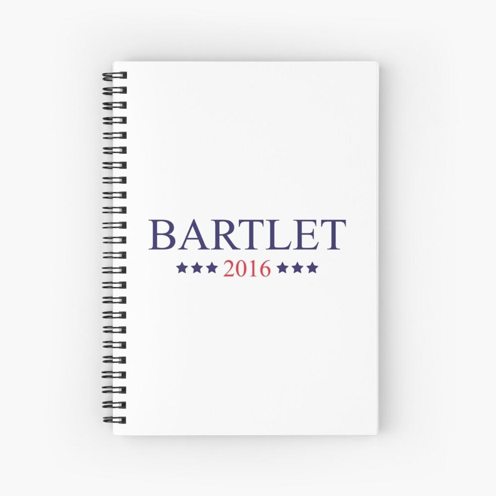 Bartlet 2016 Spiral Notebook