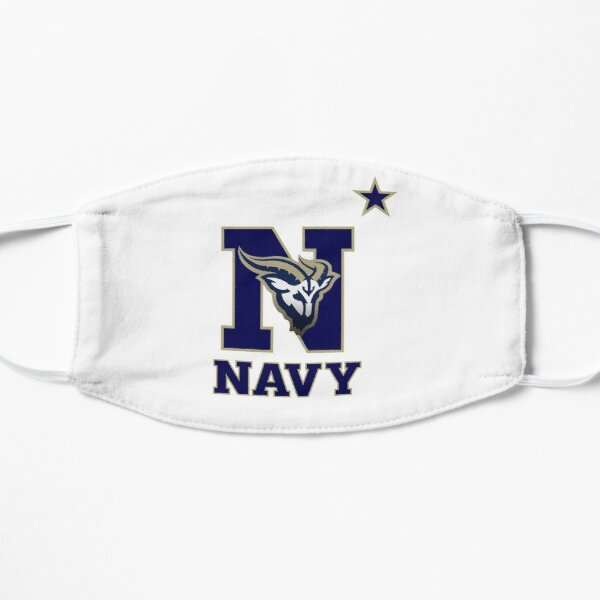 US Naval Academy - Blue text Mask