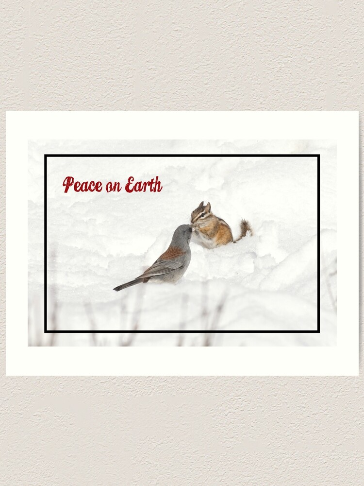 Alternate view of Peace on Earth Art Print