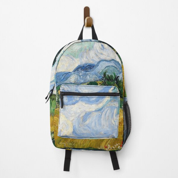 Vincent Van Gogh Field with Cypresses Backpack