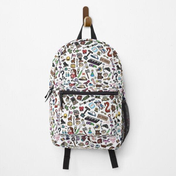 Gravity Falls Pattern Backpack