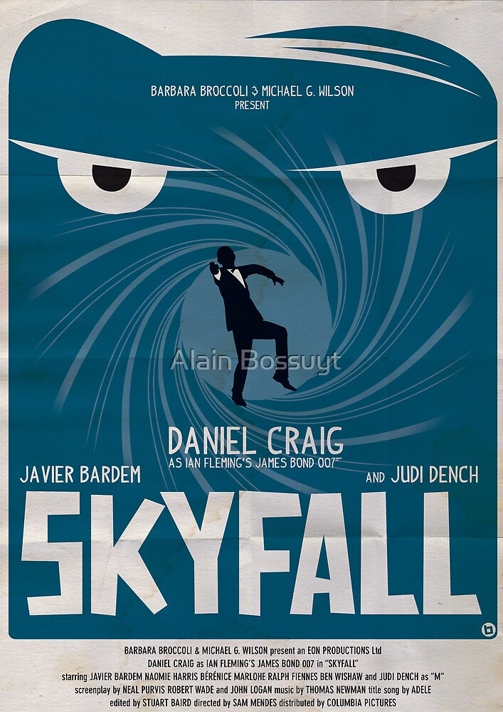 SKYFALL by Alain Bossuyt