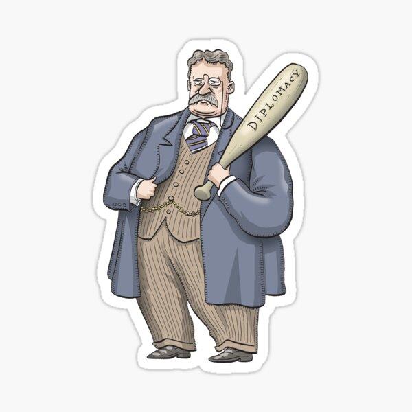 Theodore Roosevelt Sticker