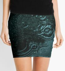 Dark water Mini Skirt