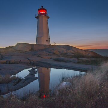 Safe Haven - Peggy's Cove Lighthouse by MajorDeez