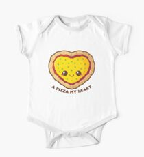 A Pizza My Heart One Piece - Short Sleeve