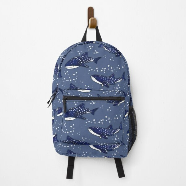 Starry Whale Sharks (Dark version) Backpack