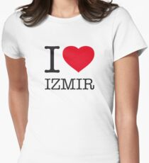I ♥ IZMIR Womens Fitted T-Shirt