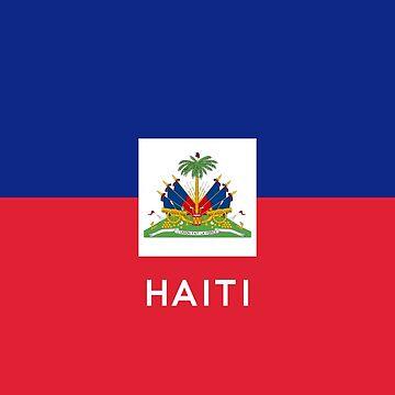Haiti Flag by lastinclass