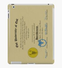 A Ph. D. in Horribleness! iPad Case/Skin