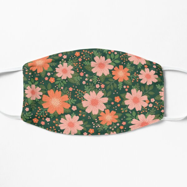 Coral Daisy Mask